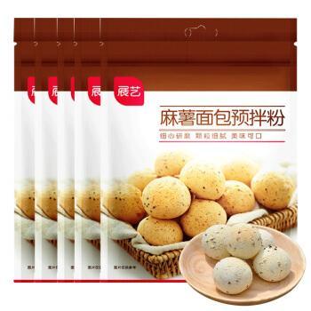 展艺麻薯预拌粉 烘焙原料麻薯粉韩式麻糬面包粉家用做