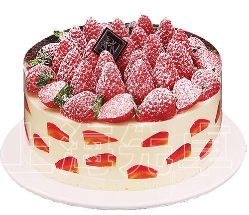 【正品】上海先卓仿真模具塑胶生日蛋糕模型草莓慕斯