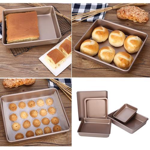 古法蛋糕模具加高古早戚风坯子方形长方形家庭烤箱烤