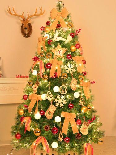 51.8米装饰品圣诞节家用树圣诞树2.1米