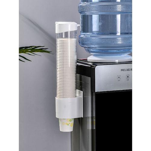 极度空间  纸杯架取杯器一次性杯子架自动取杯器饮水机放纸杯水杯塑料