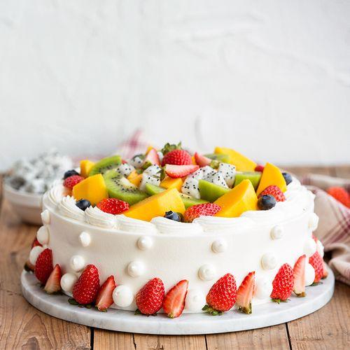 【限时秒仅108元】盛放鲜果/森林果王/浪漫果纷 水果蛋糕,3选1,2磅