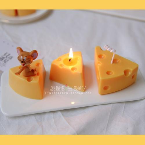 网红同款自制diy生日礼物ins卧室猫和老鼠宜家cheese芝士蛋糕奶酪