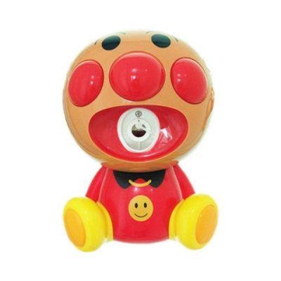 抖音同款电动音乐灯光面包超人泡泡机全自动吹泡泡网红玩具可悬挂