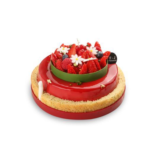 莓果蛋糕 berry cake