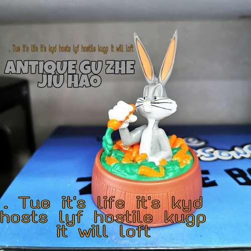 正版兔八哥玩具手办公仔摆件人偶模型蛋糕玩偶稀有绝版