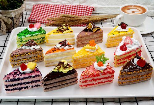 仿真蛋糕食品 仿真穆斯蛋糕 西式蛋糕 点心蛋糕模型