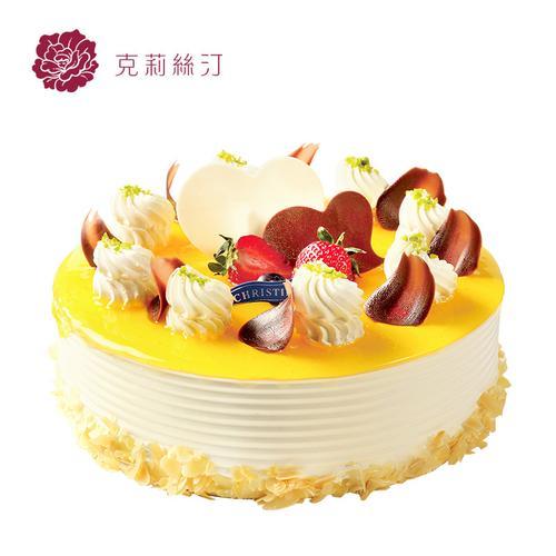 克莉丝汀生日蛋糕爱上芒果草莓蛋糕鲜奶蛋糕慕斯蛋糕