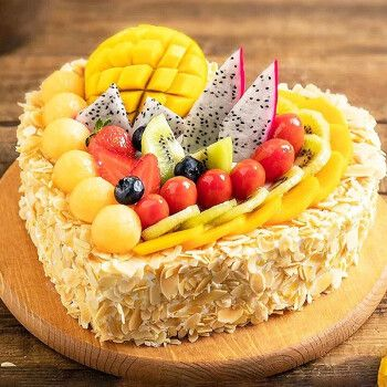 食锦谣生日蛋糕同城配送全国水果蛋糕儿童定制蛋糕预定广州深圳天津