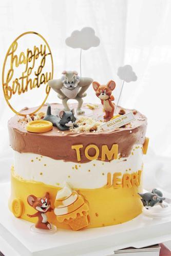 汤姆与杰瑞奶油蛋糕(零卡糖)
