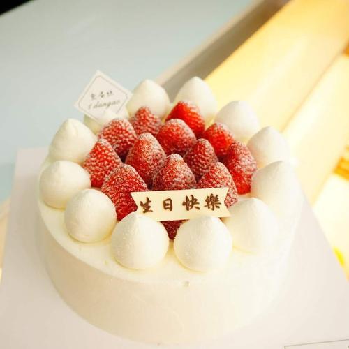 雪域草莓/snow area strawberry cake