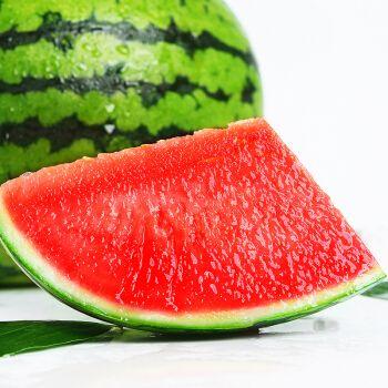 无籽西瓜新鲜水果现摘现发甜西瓜冰糖麒麟瓜8424西瓜薄皮超甜水果 一