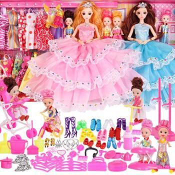 芭比娃娃芭比娃娃屋套装叶罗丽30厘米叶罗丽娃娃仙子的房子儿厂家直销