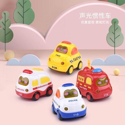 【官方直售】魔怪车小队玩具车动画片工程小汽车宝宝惯性回力模六一