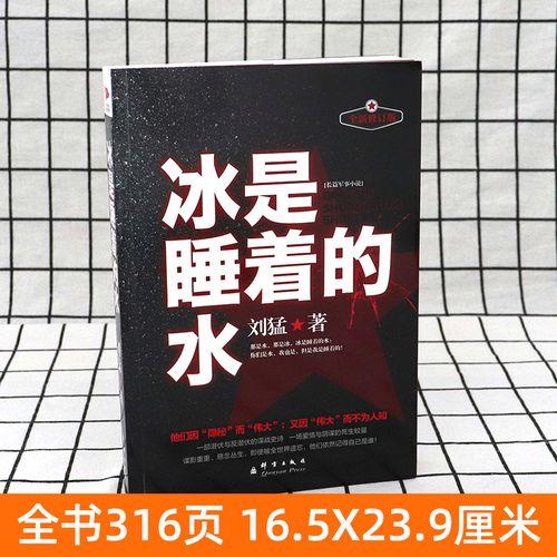 冰是睡着的水 新版 刘猛军事小说国安特工神秘铁血军事小说畅销书籍
