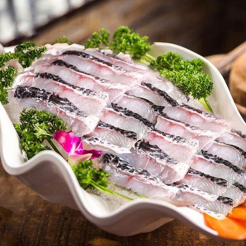 拍3斤69】海悦郦生 免浆黑鱼片 新鲜去骨活鱼鲜切水煮鱼酸菜鱼乌鱼片