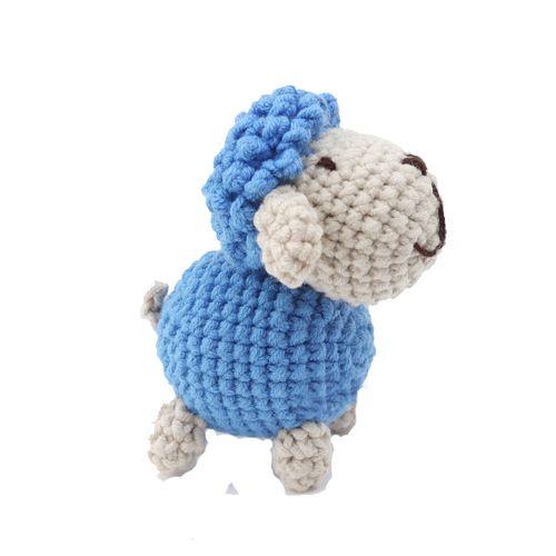 胖丫手作钩针编织毛线玩偶材料包手工diy制作小绵羊