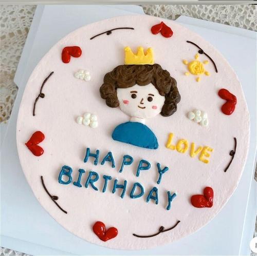 母亲节蛋糕装饰套装软陶用品插件围边亚克力节日快乐