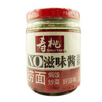 寿桃牌 瓶装xo滋味酱220g原味 意面酱 捞面 车仔拌面酱 7仔7-11酱料