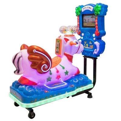 儿童投币摇摆机摇摆车电玩设备小狗儿童摇摇车游乐