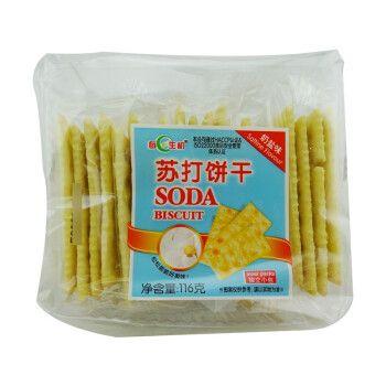 每日生机 苏打饼干116g袋装奶盐五谷芝麻香葱全麦梳打