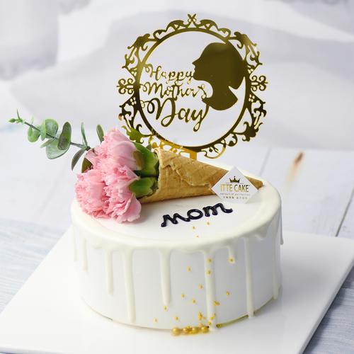 【爱的颂歌】 新鲜水果 送妈妈 生日蛋糕