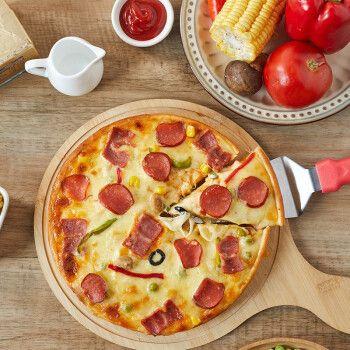 即食半成品披萨 即食速冻速食榴莲比萨半成品7寸/9寸  7寸 至尊+培根