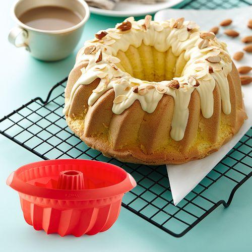 lekue乐葵8八寸戚风蛋糕模具家用硅胶蒸烤箱用具烘培