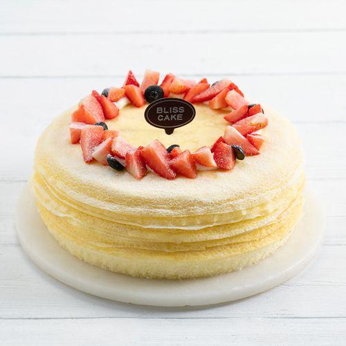 【榴莲可丽多】2磅榴莲千层蛋糕,q软千层手工煎制,软糯榴莲馥郁香甜