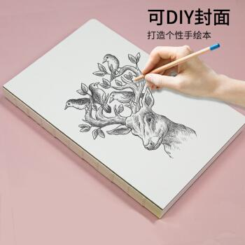素描本手绘本大学生加厚动漫服装设计画本空白马克笔彩铅专用本 可diy