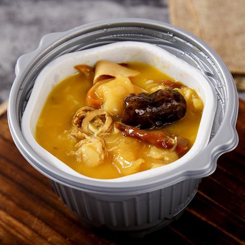 鲜都邦自热捞饭鲍汁佛跳墙自热米饭加热即食速食菜