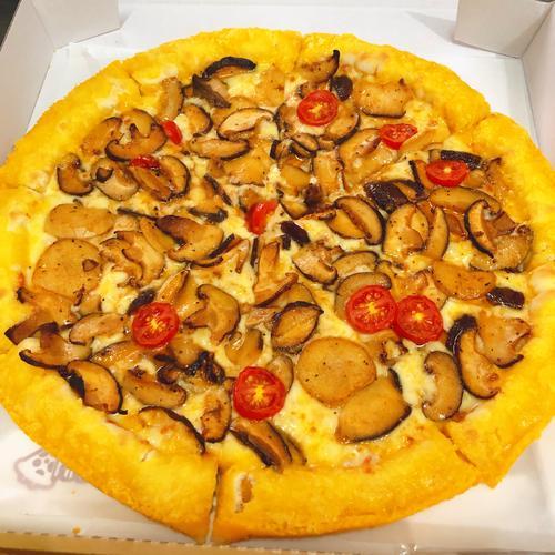 9寸田园蘑菇披萨