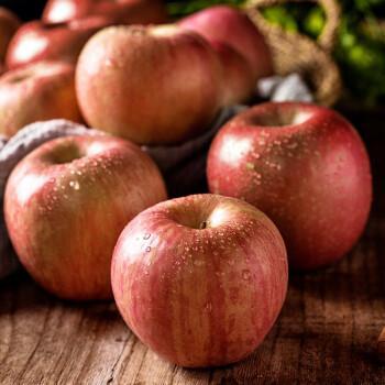 [农场直销]祥和平家庭农场苹果苹果带皮吃的红富士苹果水果糖心脆甜
