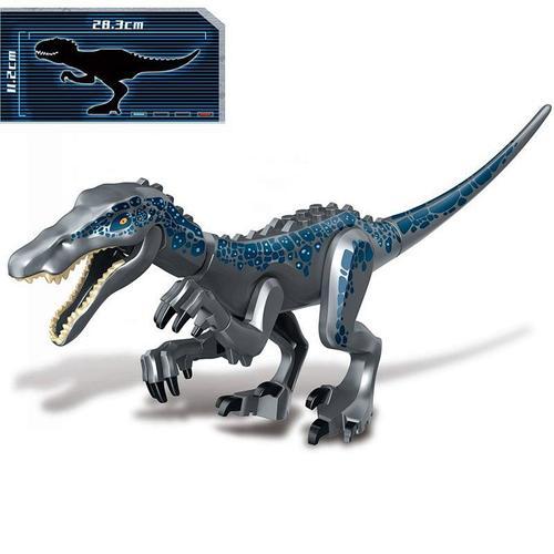 兼容乐高侏罗纪世界2恐龙机甲霸王龙沧龙暴龙坐骑拼装