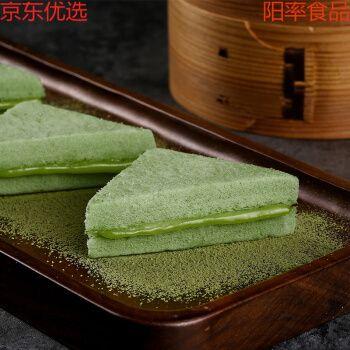 【京选好物】抹茶味三明治蒸蛋糕点整箱面包懒人早餐休闲零食品营养网