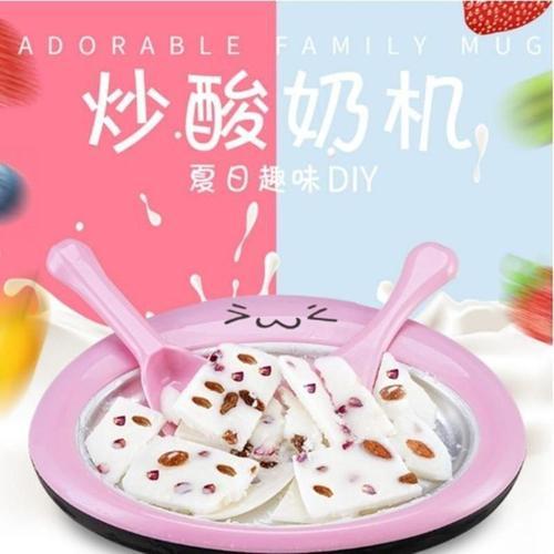 炒酸奶机冰盘炒冰淇淋.水果炒雪糕机不插电小型棒冰机