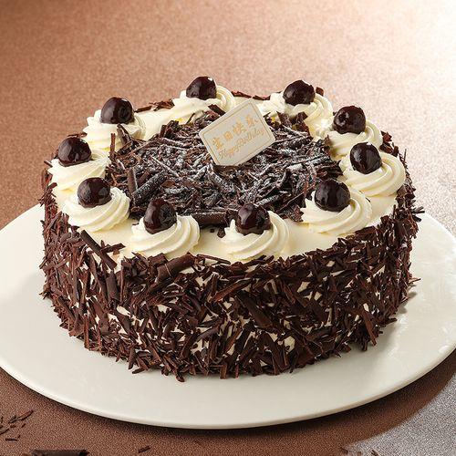 味多美 巧克力蛋糕生日蛋糕 同城经典黑森林蛋糕