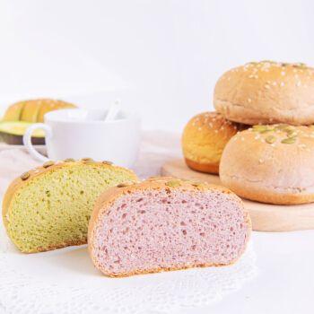 全麦面包欧包低脂健身餐整箱粗粮早餐面包饱腹杂粮代餐软欧包 南瓜味