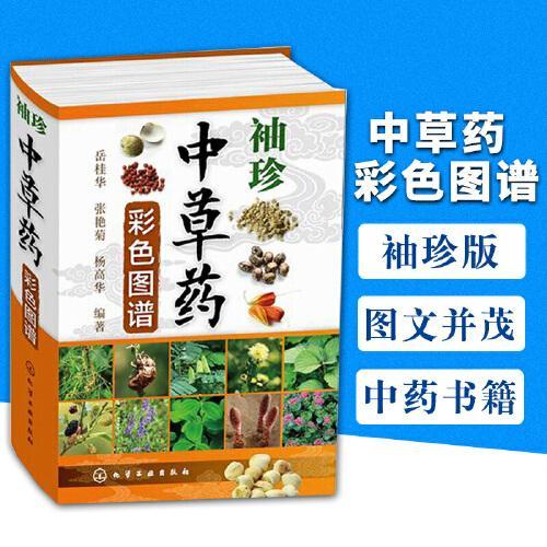 解中草药大全 中医书籍 中草药中药药材品种类鉴别区分 学名名称教程