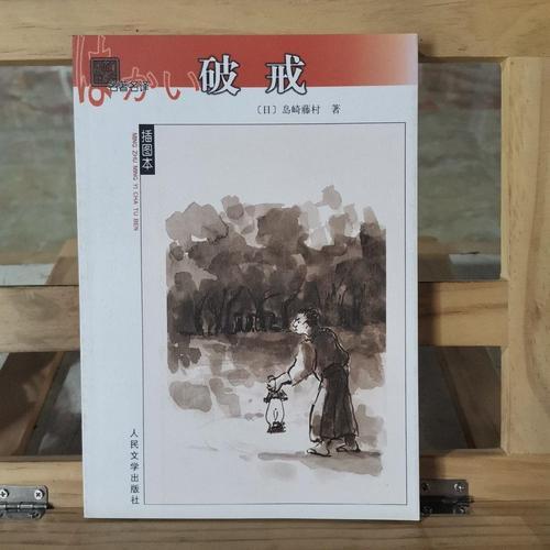 二手9成新破戒 /[日]岛崎藤村 人民文学出版社