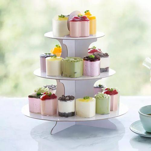 【幸福西饼】英式下午茶网红甜品台蛋糕水果慕斯零食