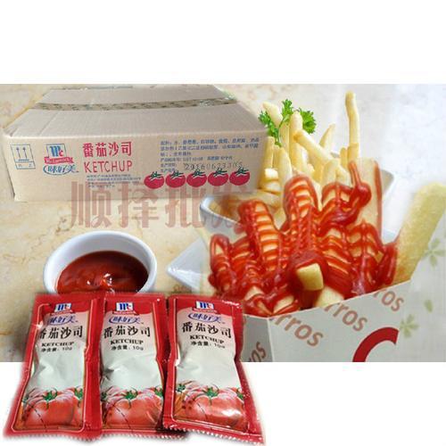 kfc薯条番茄酱小包 味好美番茄沙司10g/小包*600包蘸酱