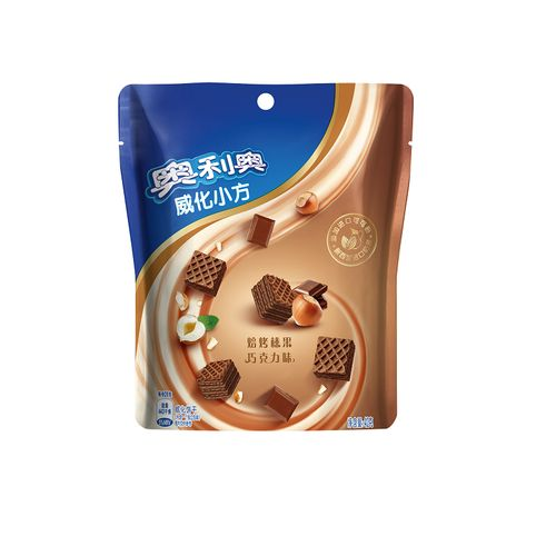 奥利奥威化小方焙烤榛果巧克力味42克/袋