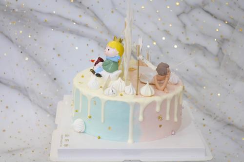 双面蛋糕(小王子+天使)