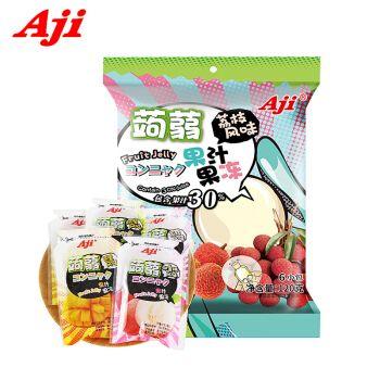 aji蒟蒻果冻120g(内含6小袋) 网红布丁休闲零食 3味可