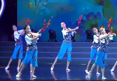 少儿舞蹈那时花开儿童舞蹈表演服儿童服舞蹈演出服