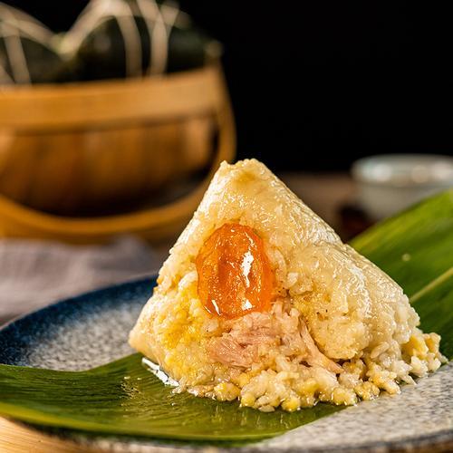 肥仔伟肇庆裹蒸粽蛋黄肉粽鲜肉真空袋装热卖广东传统