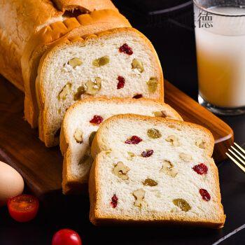 坚果面包【整箱≥13袋】(核桃仁+炼乳酱+葡萄干