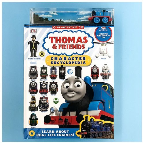托马斯和他的朋友们人物百科全书 thomas & friends