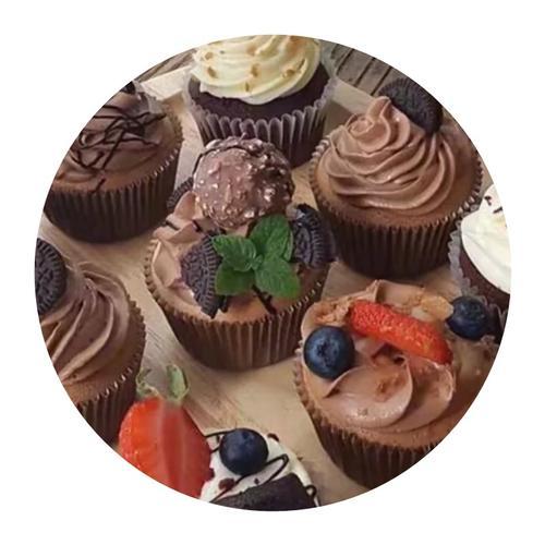 假蛋糕 道具纸杯蛋糕 巧克力杯子蛋糕 橱窗展示仿真